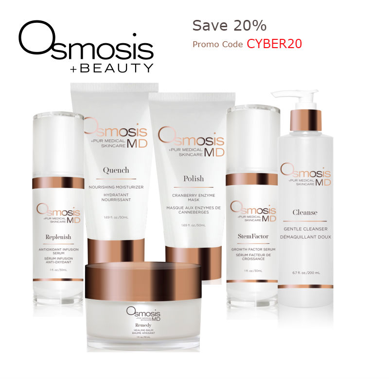 Osmosis Skincare Original Products Black Friday Sale