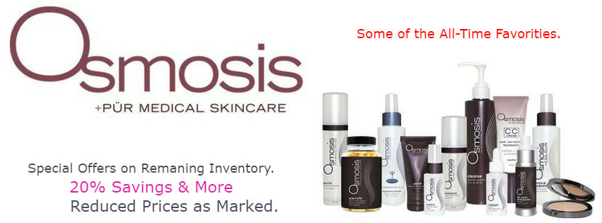 All-Time Favorite Osmosis Skincare Sale