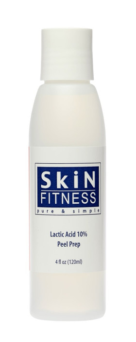 Skin Fitness LACTIC ACID 10 PEEL PREP