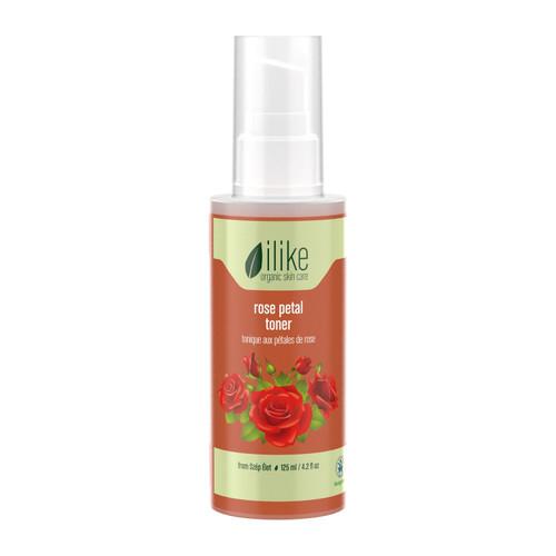 Ilike Organic Rose Petal Toner