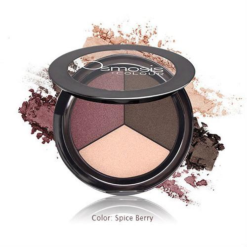 Osmosis +Colour Eye Shadow Trio -spice berry