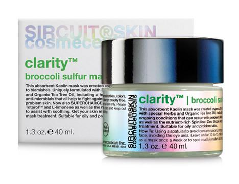 Sircuit Skin Clarity Broccoli Sulfur Mask