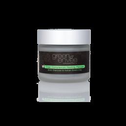 Green Envee Organics Clear Complexion Healing Masque w Charcoal & Italian Green Clay