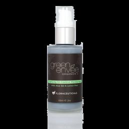 Green Envee Organics Clarifying Oil Control Moisturizer w Aloe Vera & Lemon Peel