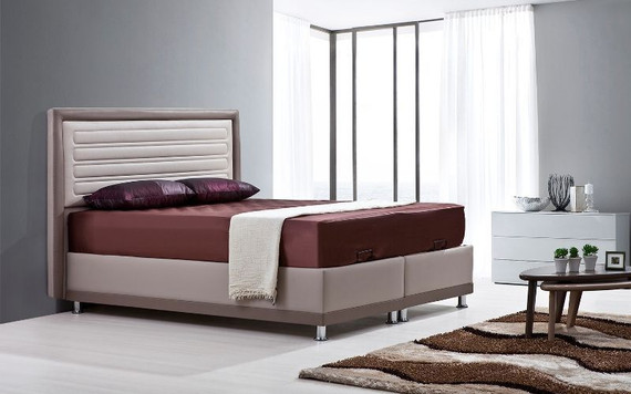 Karamel Storage Bed