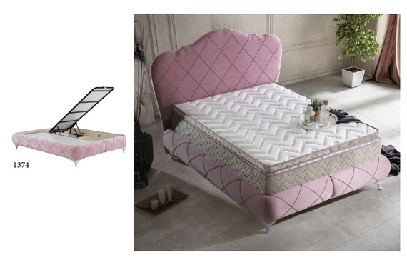 Elegance Storage Queen Bed