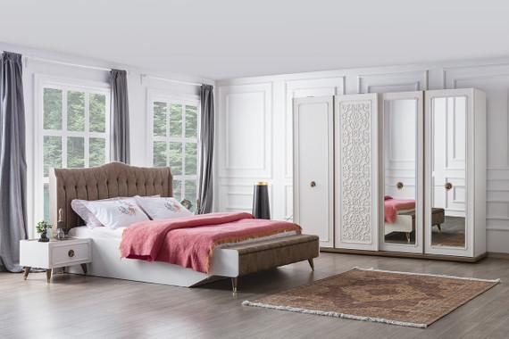 Boston Bedroom-Cream