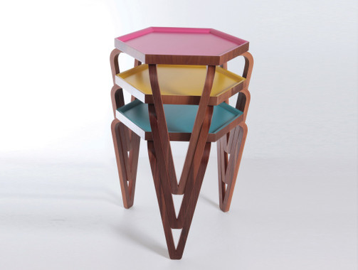 Orbis Nesting Tables (Colors)