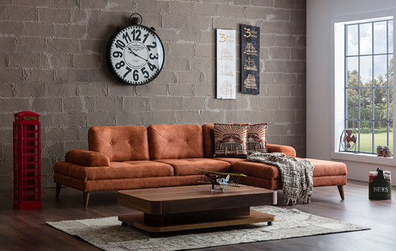 Tulip Sleeper Sectional with Optional Extension