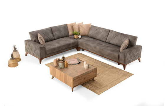 London Sleeper Sectional with Storage