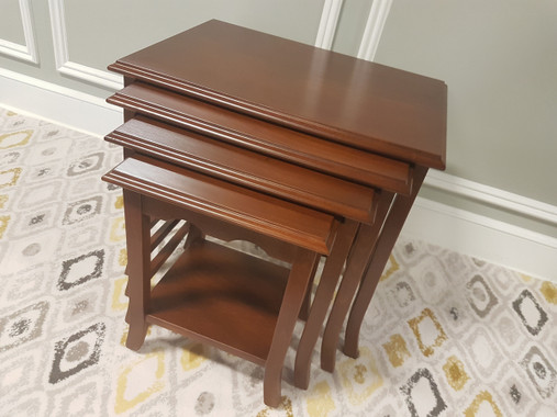 MFS101 Nesting Table - Walnut