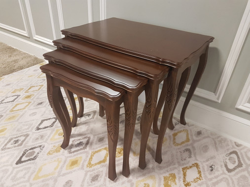 MFS142 Nesting Table - Walnut