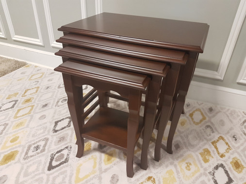 MFS147 Nesting Table - Walnut