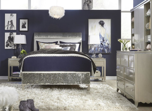 Glitz & Glam Teen Bedroom