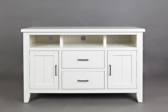 "Dover Point 50"" Media Console White"