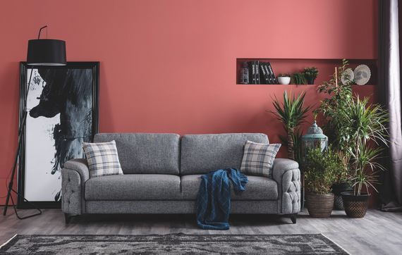 Havana Sleeper Sofa - Heather Gray