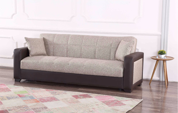 Brookline Sleeper Sofa with Storage - Beige