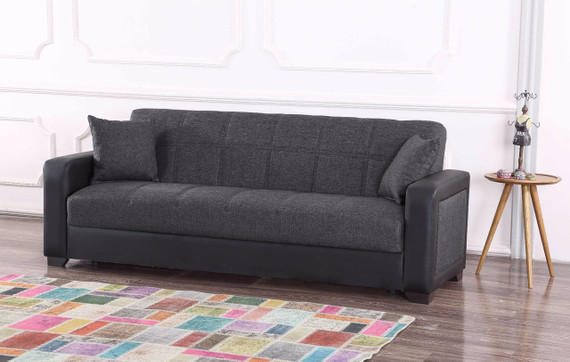 Charmant Brookline Sleeper Sofa With Storage   Gray