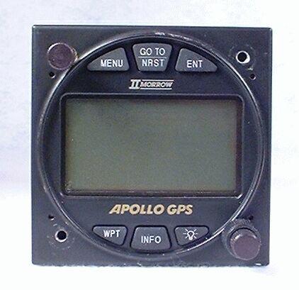 Apollo 360 VFR GPS Navigator Closeup