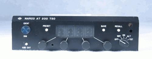 AT-200 Transponder Closeup