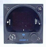 Escort-II VOR / LOC Indicator / NAV/COMM Closeup