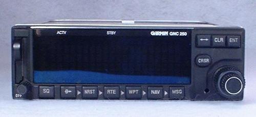 GNC-250 VFR GPS / COMM Transceiver Closeup