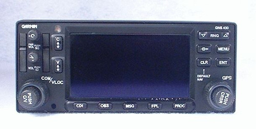 GNS-430 IFR GPS / NAV / COMM / MFD / Moving Map / Glideslope Closeup