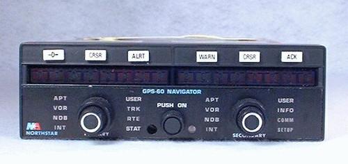 GPS-60 VFR GPS Navigator Closeup