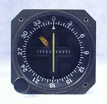 ID-824 VOR / LOC Indicator Closeup