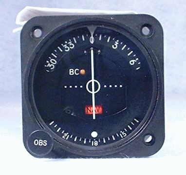 IN-385A VOR / LOC Indicator Closeup