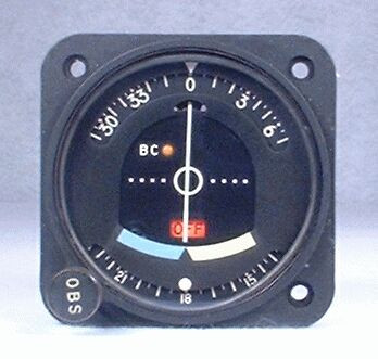 IN-514B VOR / LOC Indicator Closeup