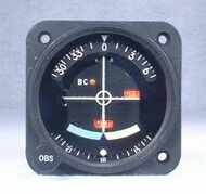 IN-525B VOR / LOC / Glideslope Indicator Closeup