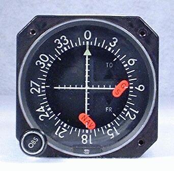 IND-351A GPS / VOR / LOC / Glideslope Indicator Closeup