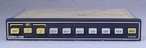 KA-134 Audio Panel Closeup