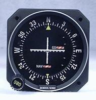 KI-209A GPS / VOR / LOC / Glideslope Indicator Closeup