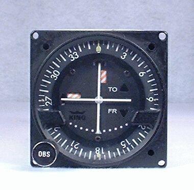 KI-214 VOR / LOC / Glideslope Indicator / Glideslope Receiver Closeup