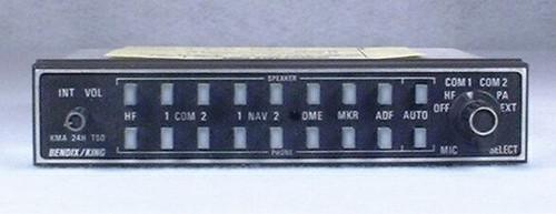 KMA-24H (-50 series) Audio Panel and Intercom Closeup