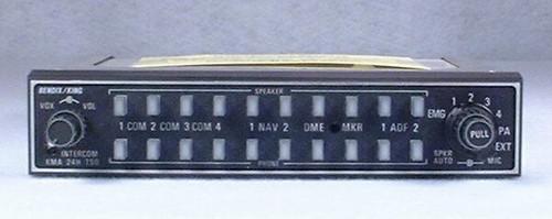 KMA-24H (-70 series) Audio Panel and Intercom Closeup