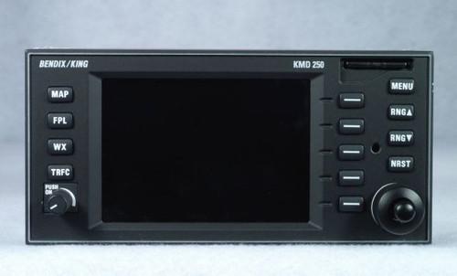 KMD-250 Multi-Function Display / Moving Map / VFR GPS Navigator Closeup