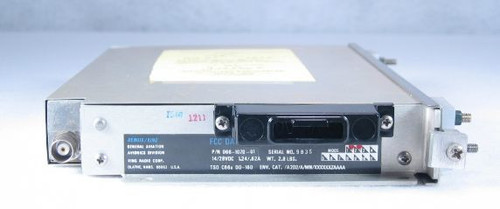 KN-63 DME Receiver / Transmitter (-01 version) Closeup