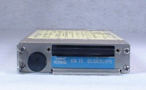 KN-75 Remote Glideslope Receiver Closeup