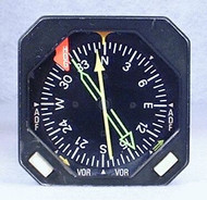 KNI-581 Radio Magnetic Indicator Closeup