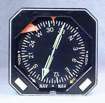 KNI-582 Radio Magnetic Indicator Closeup