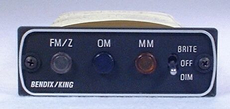 KR-22 Marker Beacon Receiver Closeup