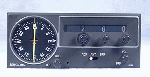 KR-86 ADF Receiver and Indicator Closeup