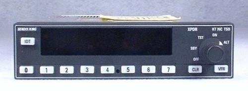 KT-76C Transponder Closeup