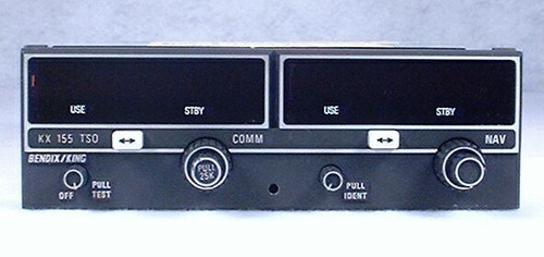 KX-155 NAV/COMM, 14 Volts Closeup