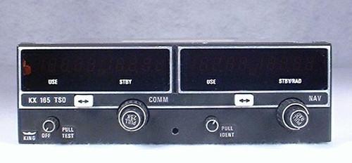 KX-165 NAV/COMM, 14 Volts Closeup