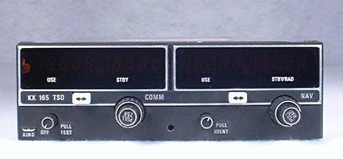 KX-165 NAV/COMM, 28 Volts Closeup