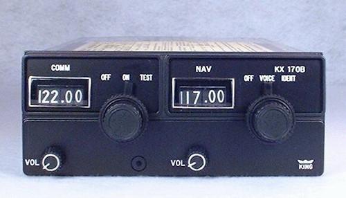 KX-170B NAV/COMM Closeup